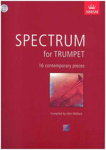 Spectrum For Trumpet Book/Cd