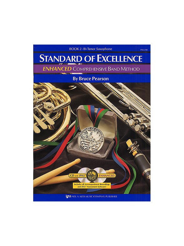Standard Of Excellence Bk 2 Enhanced Bk/2Cd