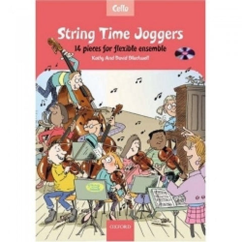 String Time Joggers Cello Bk/Cd