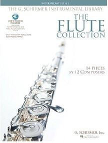 Flute Collection Intermediate Fl/Pno Bk/Cd