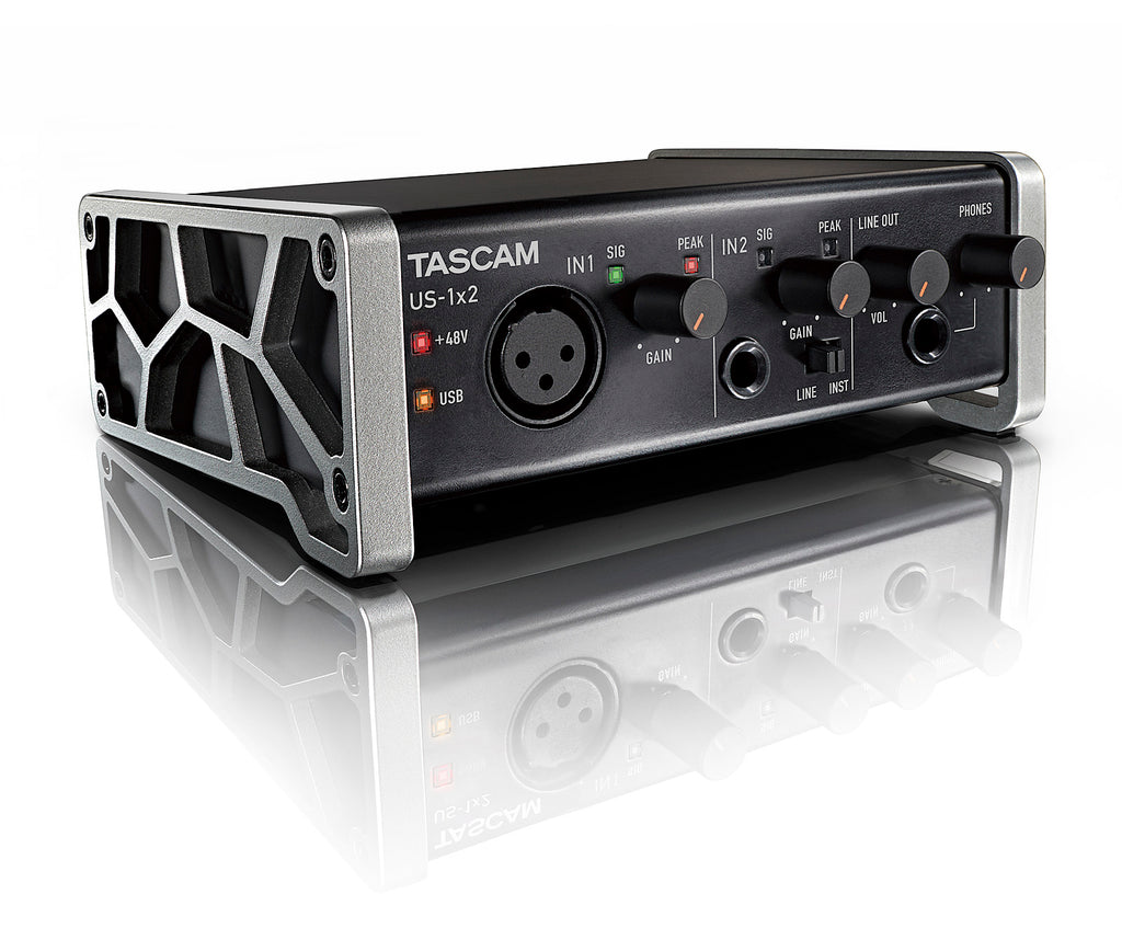 US-1X2 USB Audio Interface/Tascam1X2