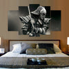 Samurai V3 Painting - 5 Piece Canvas-Canvas-TEEPEAT