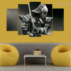 Samurai V3 Painting - 5 Piece Canvas