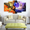 Naruto Vs. Sasuke - 5 Piece Canvas Painting-Canvas-TEEPEAT