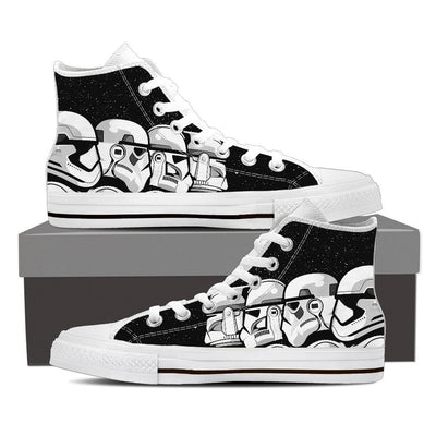 Star Wars Trooper Evo Men High Top Canvas Shoes