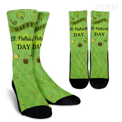 St Patrick's Greets and Stuff Socks