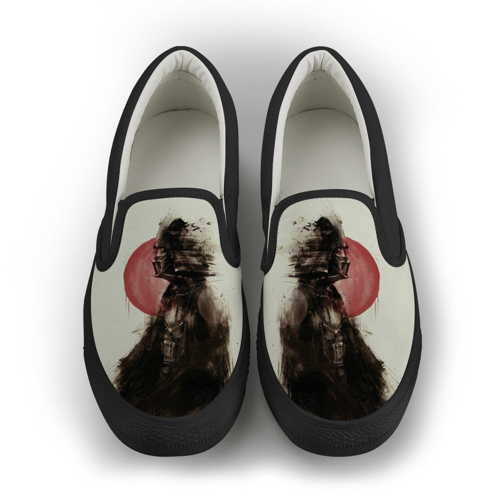 Vader Jap Smudge Women Slip-On Canvas Shoe