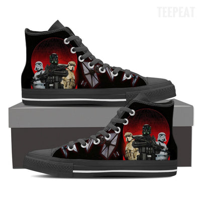 Empire Battler Women High Top Canvas Shoes-Shoes-TEEPEAT