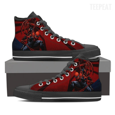 Spider-Man High Top Canvas Shoes