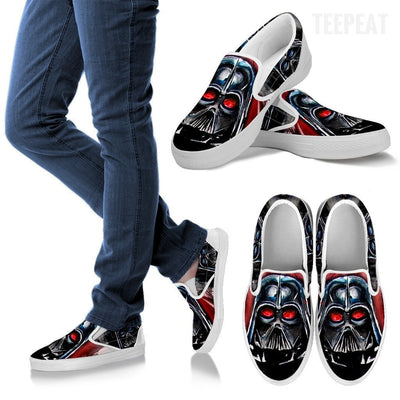 Star Wars Vader Smudges Slip-On Canvas Shoes