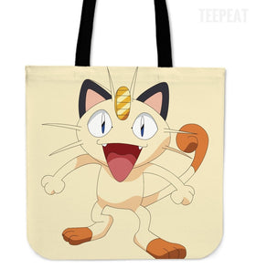 Pokemon Meowth Totes
