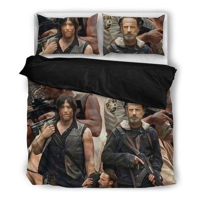 Rick And Daryl Bedding Set