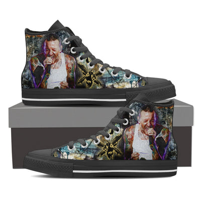 Hybrid Theory High Top Canvas Shoes