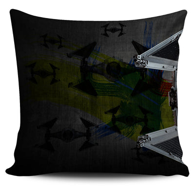 Tie Fighter Connector Pillow Case