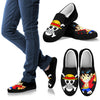 One Piece Luffy Skull Slip-On Canvas Shoes