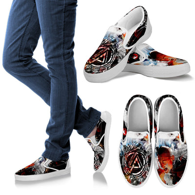One Step Closer Slip-On Canvas Shoes