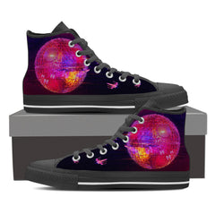 Groovy DS Women High Top Canvas Shoes