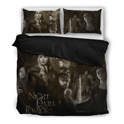 Night Is Dark And Full Of Terrors Bedding Set