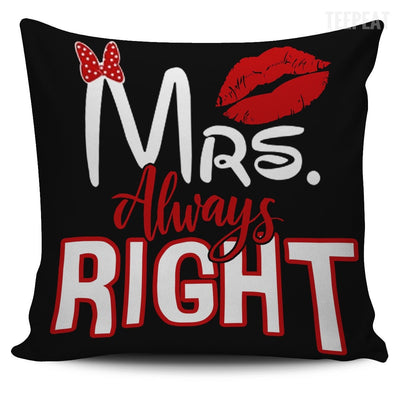 Mrs. And Mr. Right-Pillows-TEEPEAT