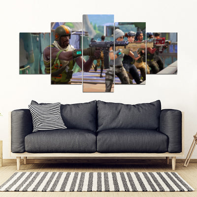 Fortnite Battle Royale - 5 Piece Painting