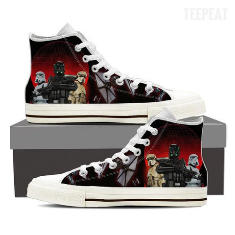 Empire Battler Men High Top Canvas Shoes-Shoes-TEEPEAT
