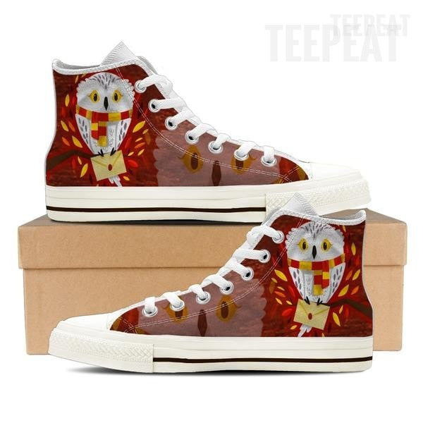 Hedwig Mail Men High Top Canvas Shoe