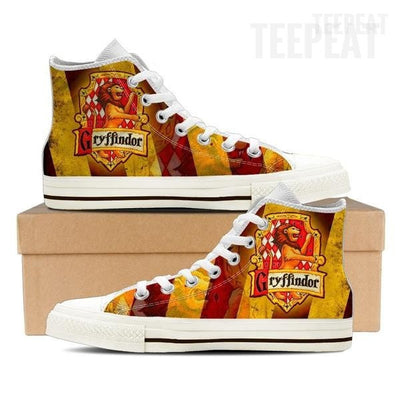 Gryffindor Women High Top Shoes-Shoe-TEEPEAT