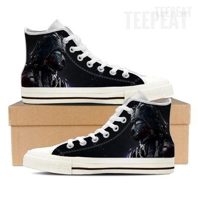 Vader High Top Canvas Shoe-Shoes-TEEPEAT