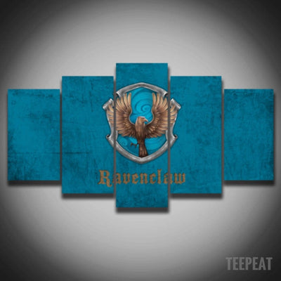 Ravenclaw Painting - 5 Piece Canvas-Canvas-TEEPEAT