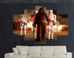 Kylo Ren Painting - 5 Piece Canvas LIMITED EDITION