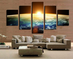 Sun In The Universe- 5 Piece Canvas
