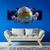 Fortnite - Skydive 5 Piece Canvas