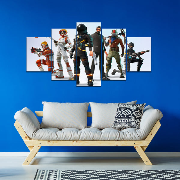 Fortnite Outfits 5 Piece Canvas Empire Prints