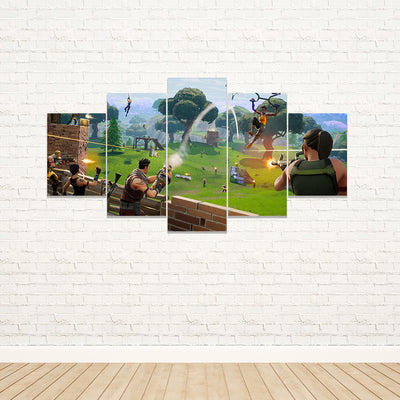 Fortnite - Battle 5 Piece Canvas