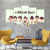 Bangtan Boys - 5 Piece Canvas BTS