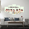 Bangtan Boys - 5 Piece Canvas