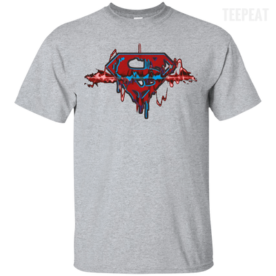 Superman Pulse Light Tee-Apparel-TEEPEAT