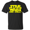 Star Wars and Chill Tee-Apparel-TEEPEAT
