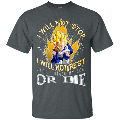 I Will Not Stop or Die Tee-Apparel-TEEPEAT