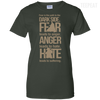 Fear Anger Hate Ladies Tee-Apparel-TEEPEAT