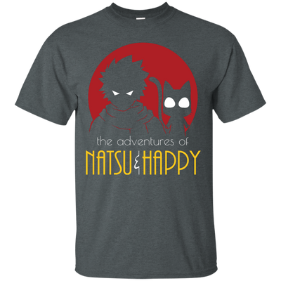 Natsu and Happy Tee-Apparel-TEEPEAT