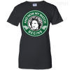 Game of Thrones Jon Snow Coffee Ladies Tee-Apparel-TEEPEAT