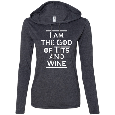 Game of Thrones Tyrion Tits and Wine Black Ladies Tee-Apparel-TEEPEAT