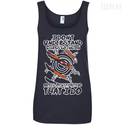 I Don't Understand What's Going On Ladies Tee-Apparel-TEEPEAT