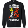 I'm Not The Monster You Think I Am Tee-Apparel-TEEPEAT