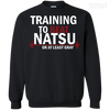 Fairy Tail Training to Beat Natsu Tee-Apparel-TEEPEAT