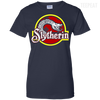Harry Potter Slytherin Ladies Tee-Apparel-TEEPEAT