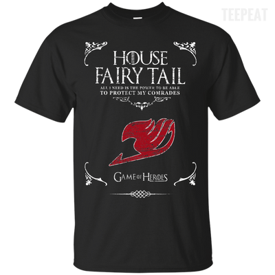 House of Fairy Tail Tee-Apparel-TEEPEAT