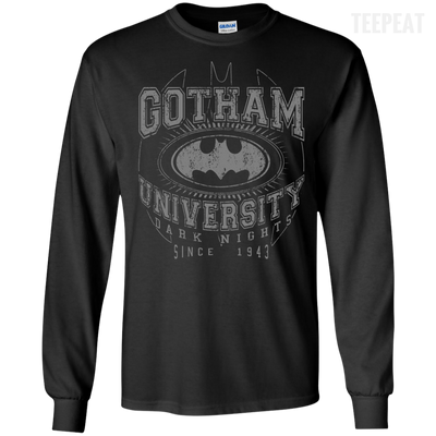 Gotham University Tee-Apparel-TEEPEAT