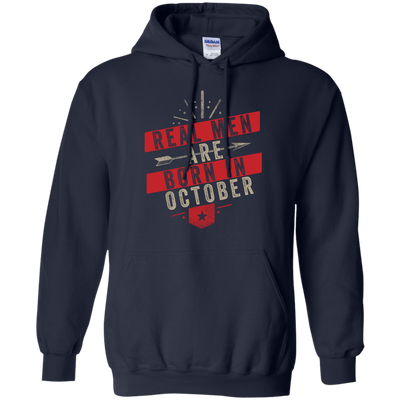 Real Men Are Born In October Tee
